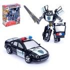 Робот-трансформер «Полицейский»