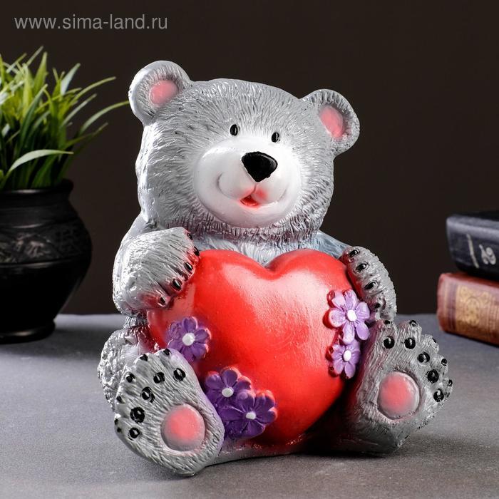 "Копилка ""Медведь с сердцем"""