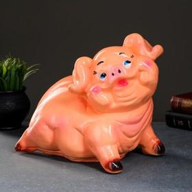 """Копилка """"Свинка"""" микс 26см"""