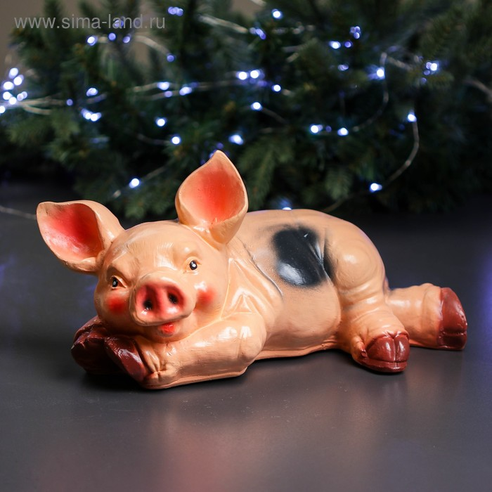 "Копилка ""Свинка Борька на лугу"""