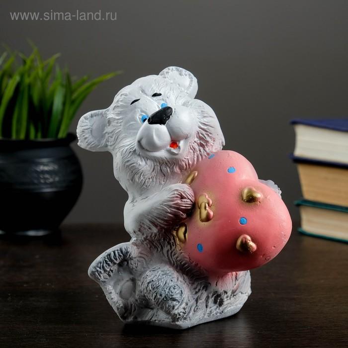 """Копилка """"Медведь с сердцем"""" малая"""