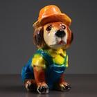 """Копилка """"Собака в шляпе"""" 22х11х15см"""