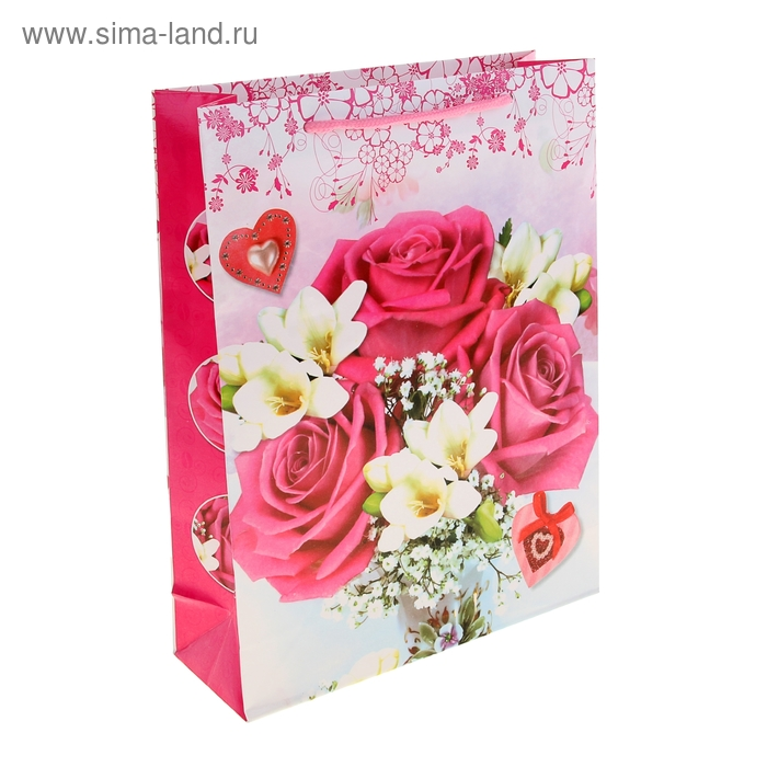 """Пакет ламинированный """"Поляна из роз"""""""