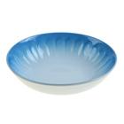 """Тарелка глубокая 720 мл """"Изобилие"""", цвет голубой"""
