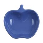 "Миска для снэков 200 мл ""Яблочко"", d=14 см, цвет синий"