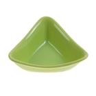 """Миска для снэков 180 мл """"Треугольник"""" d=15 см, цвет зелёный"""