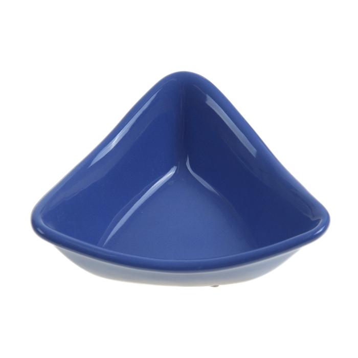 """Миска для снэков 180 мл """"Треугольник"""", цвет синий"""