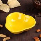 """Миска для снэков 200 мл """"Долька"""", цвет желтый"""