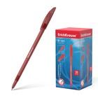 Ручка шариковая Erich Krause R-101, узел 1.0мм, чернила красные, длина линии письма 800м