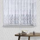 Штора без шторной ленты, ширина 145 см, высота 70 см, цвет белый