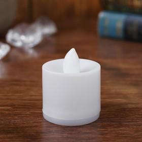 Свеча светодиодная, переливается Ош