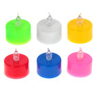 "Led candle ""Romance"" is lit in different colors, MIX colors"