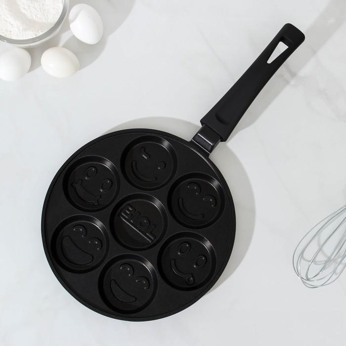 Сковорода для оладий 24 см с антипригарным покрытием