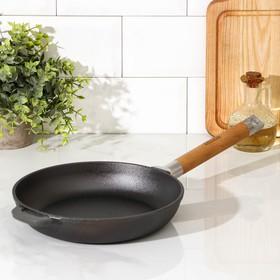Сковорода 22 см со съемной ручкой, дно 18 см