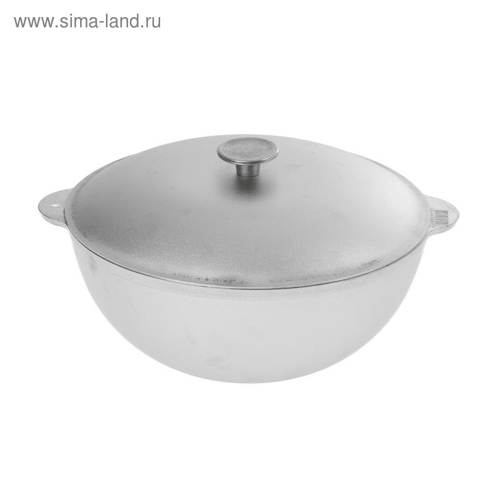 """Казан 10 л """"Татарский"""", с крышкой d=32 см"""