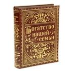 """Шкатулка-книга """"Богатство нашей семьи"""""""