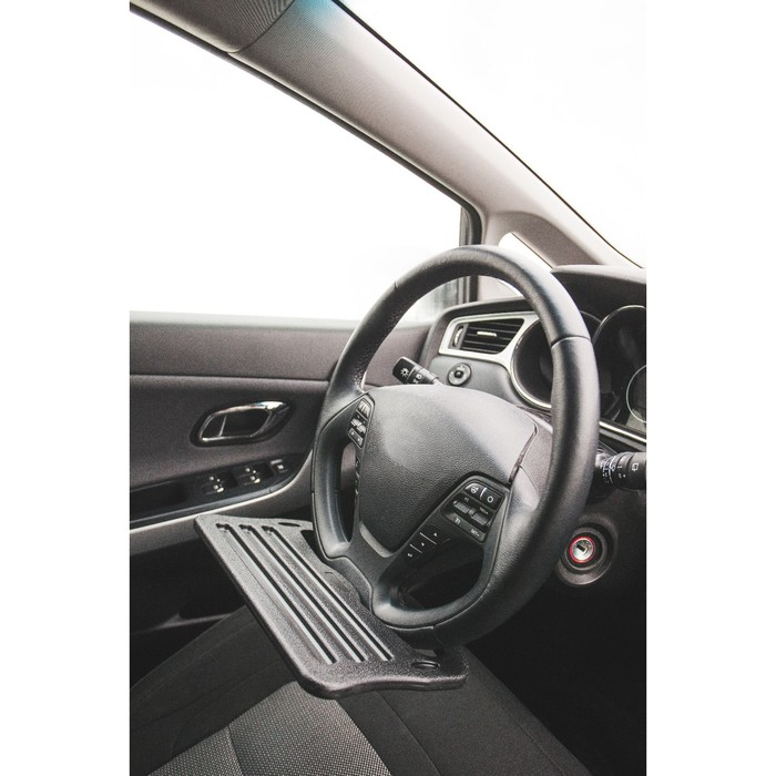 Столик для планшета под руль SJ-188 пластик, черный