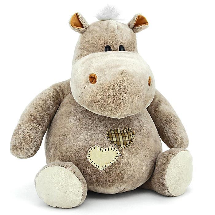 Мягкая игрушка «Бегемот Мотя» - фото 1056062