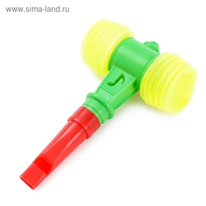 Молоток-пищалка со свистком, цвета МИКС
