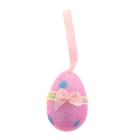 """Сувенир - пасхальное яйцо """"Бантик на ленточке"""" (набор 6 шт), цвета МИКС"""