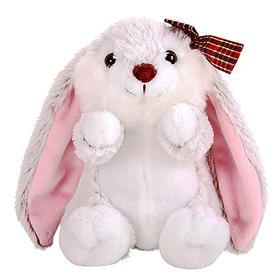 Мягкая игрушка «Крольчиха с бантиком»