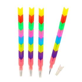 """Set sectional, chernografitnye pencils, 4 pieces, """"Puzzle"""", a MIX"""
