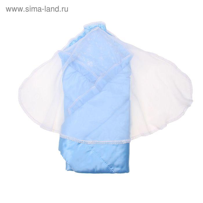 Комплект для новорожденного, 4 предмета, голубой