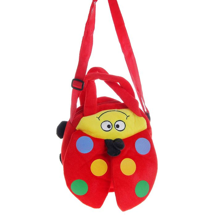 Мягкая сумочка «Божья коровка», цвета МИКС