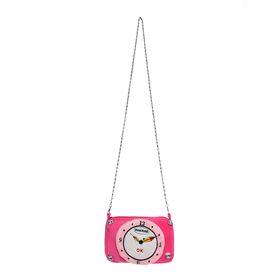 Мягкая сумочка «Часики», цвета МИКС