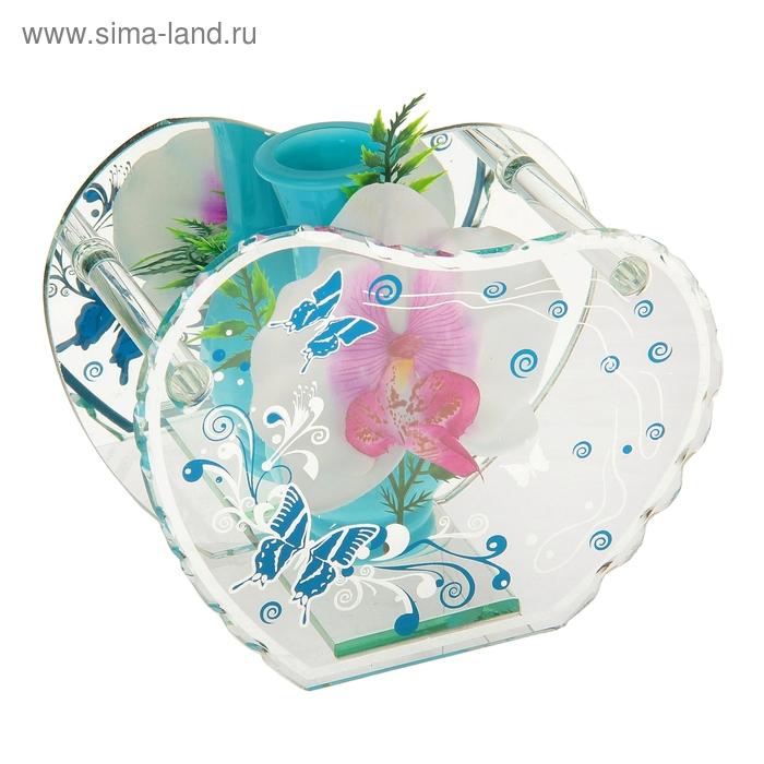 """Ваза """"Бабочка"""" орхидея"""