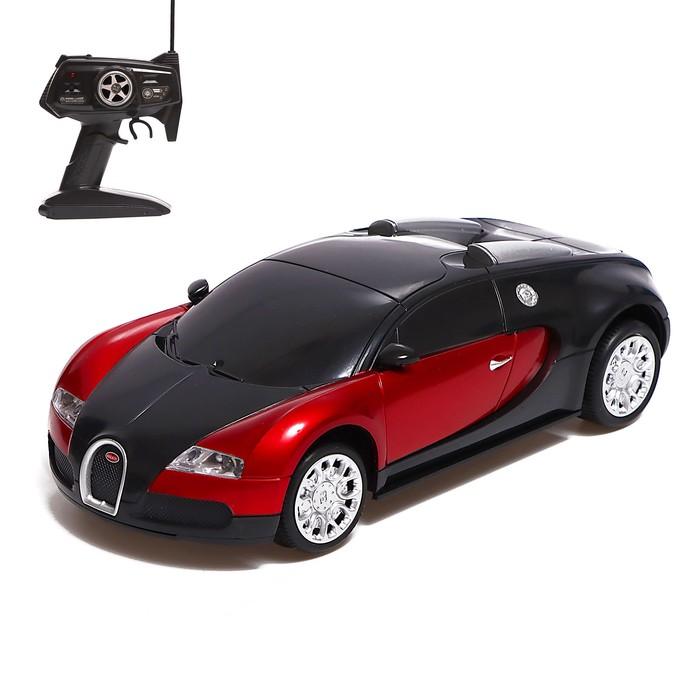 Машина на радиоуправлении Bugatti Veyron, масштаб 1:10, МИКС