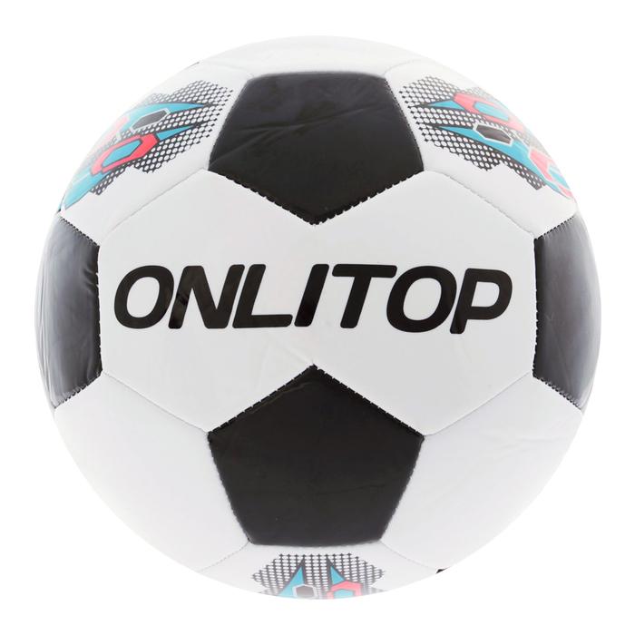 Мяч футбольный Colden goal, 32 панели, PVC, 3 подслоя, машинная сшивка, размер 5