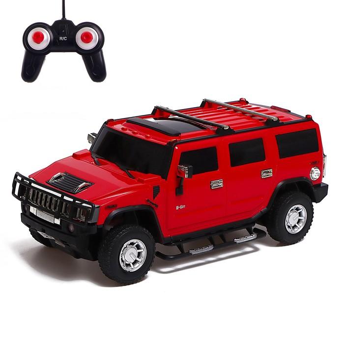 Машина на радиоуправлении Hummer H2, масштаб 1:24, МИКС - фото 106524386