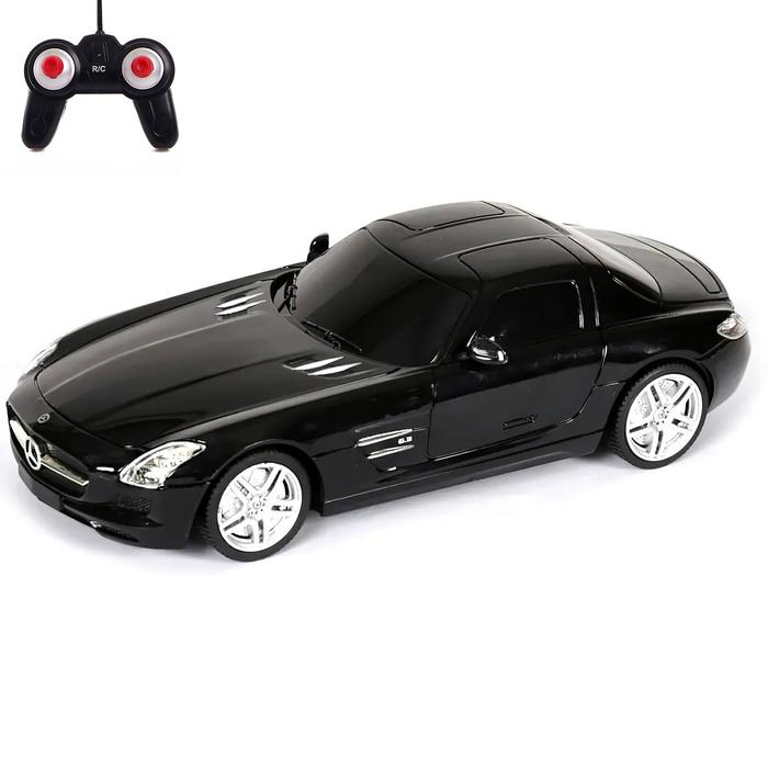Машина на радиоуправлении Mercedes-Benz SLS, масштаб 1:24 - фото 106524400
