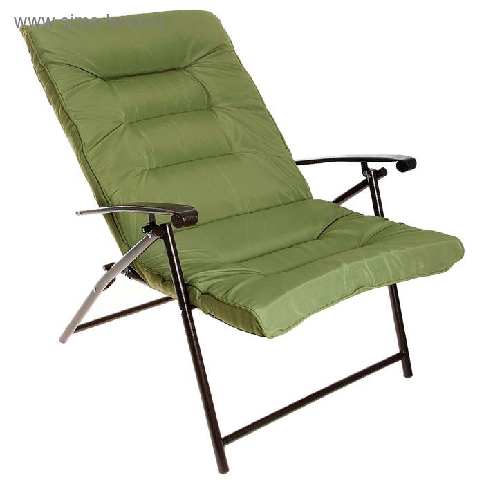 Кресло, размер 92 х 69 х 130 см, до 80 кг, цвет зелёный