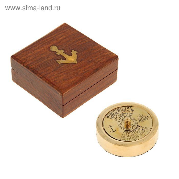 """Сувенир """"Вечный календарь в шкатулке"""""""