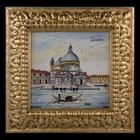 "Картина керамическая ""Венеция. Собор Санта-Мария-делла-Салюте"" - фото 1586168"