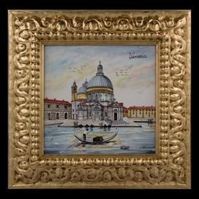 """Картина керамическая """"Венеция. Собор Санта-Мария-делла-Салюте"""""""