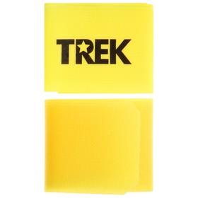 Зажим-липучка для лыж, цвет жёлтый