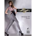 Колготки женские GABRIELLA MELANGE 3D 100 (melange graffit, 2)
