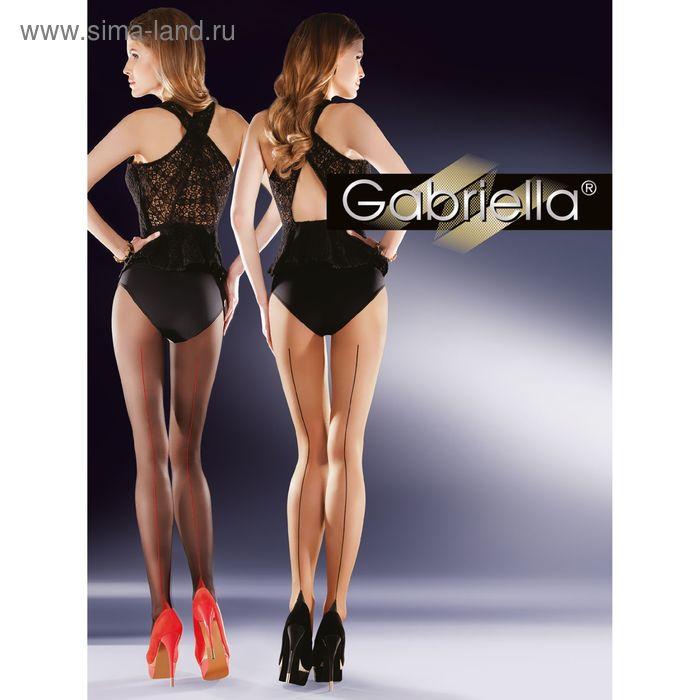 Колготки женские GABRIELLA BELLA 20 (beige/nero, 3)