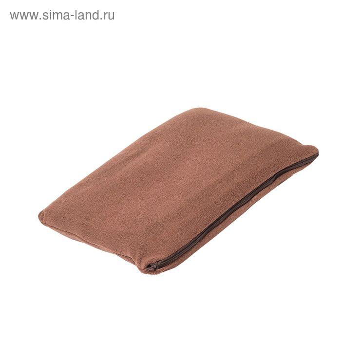 """Плед-подушка """"Спутник"""", размер 35х40см/100х140см, цвет 68 (микс)"""