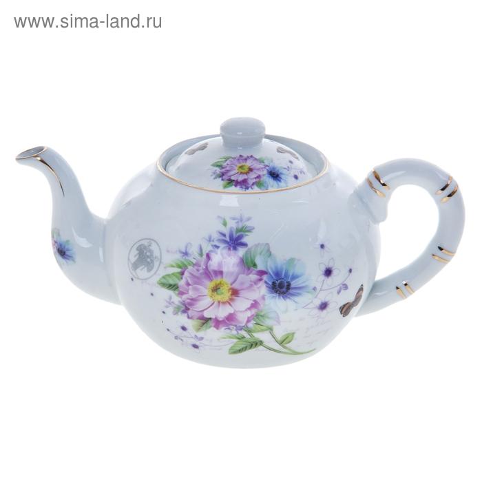 """Чайник заварочный 800 мл """"Полевые цветы"""""""