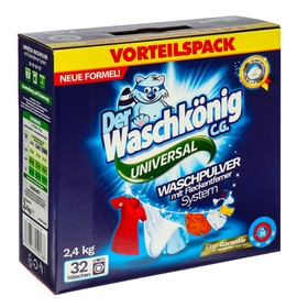 Универсальный стиральный порошок Der Waschkonig C.G., 2,5 кг