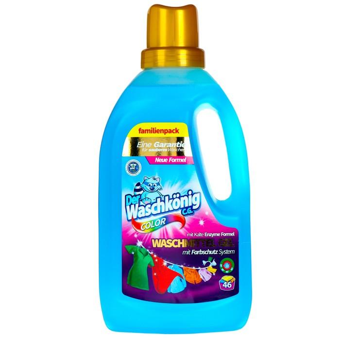 Гель для стирки цветных тканей Der Waschkonig C.G. Color, 1,5 л