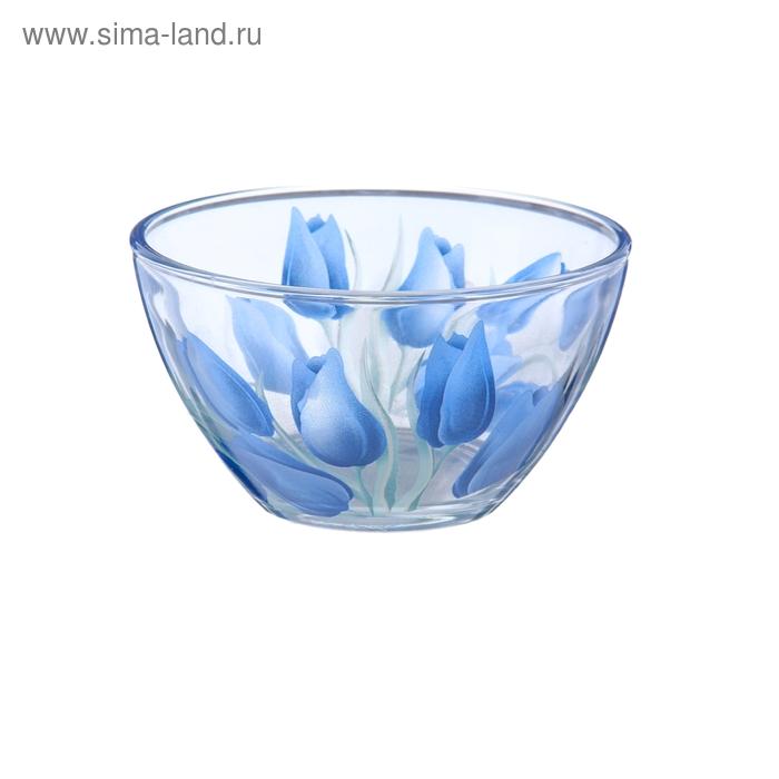 """Салатник d=11,5 см """"Тюльпаны синие"""""""
