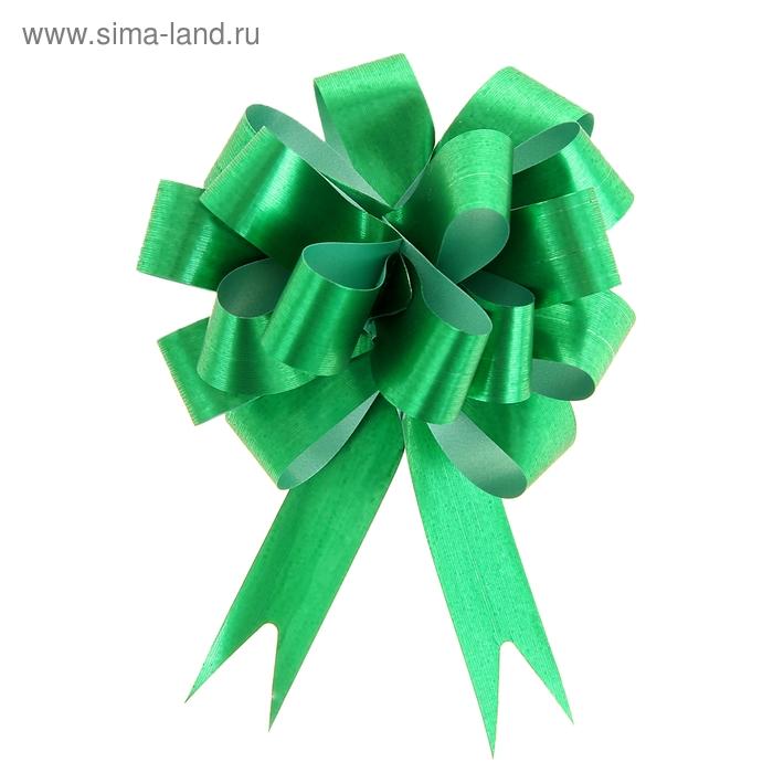 """Бант-шар № 1,8 """"Классика"""", цвет зелёный"""