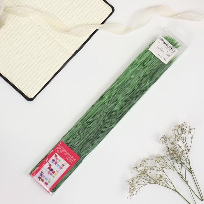 """Бант-шар № 1,8 """"Тонкие полоски"""", цвет зелёный"""