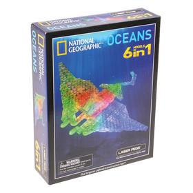 Конструктор светодиодный 6 в 1 «Гео Океаны», 78 деталей