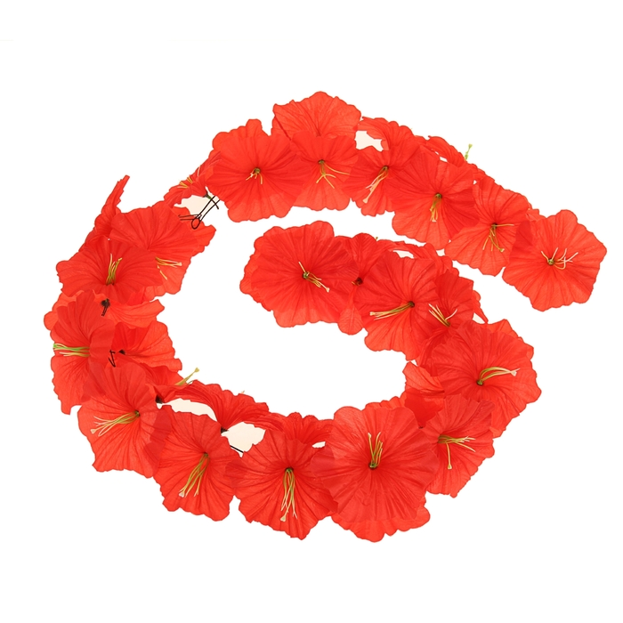 Гавайская гирлянда ''Лилия'', цвет красный 323650
